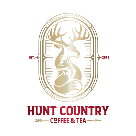 Hunt Country Coffee and Tea Logo-Gradient-(Vertical)-RGBb-512px